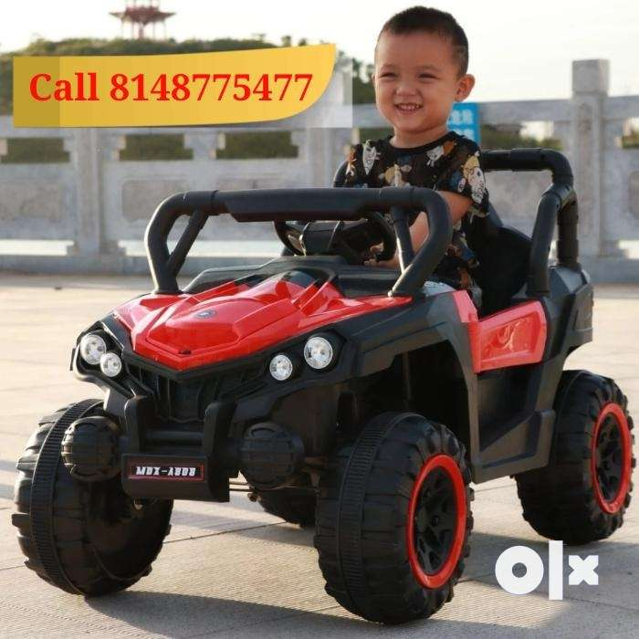 Battery Operated Kids Car Jeep 0
