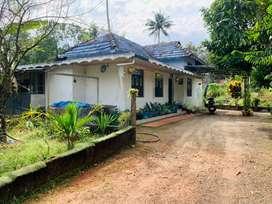 Aluva vazhakulam 17cent tiled house 52lakh well water ,tar road,