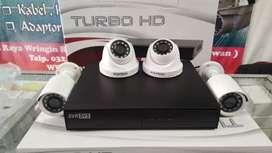 Paket CCTV 4 camera PROVIEW