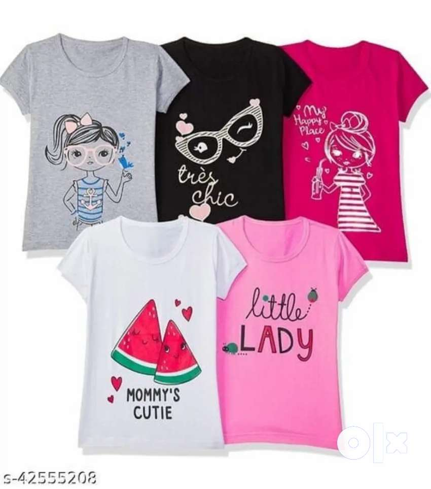 Girls T shirt for Age 8 to 14 Wholesale only