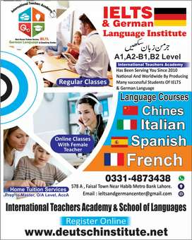 German language Teacher require for A2 in faisal town Institute