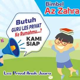 LES PRIVAT TK SD SMP SMA UMUM ( Guru datang ke rumah/ONLINE)