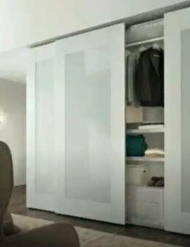 Stiker Sanblas dan kaca film aksesoris kaca furniture juga bisa