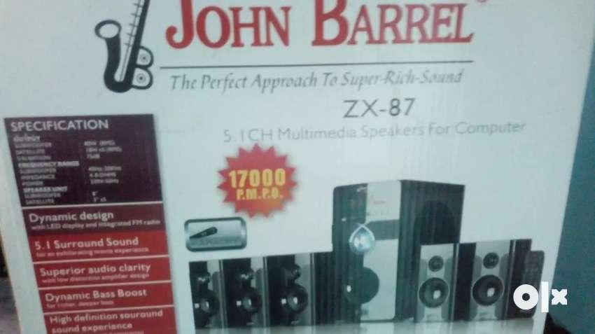 John barrel 5.1 home theater 0
