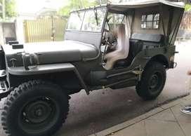 Jeep willys 1948 stir kiri rare & vintage item