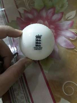 Rubber ball for cricket practice
