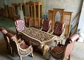 Sofa kursi makan Rafi Ahmad,meja makan satu set