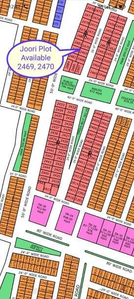 Joori Plot available on 5 Years Installment in North Town Residency
