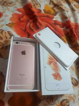 I phone 6S ( completely new condition), Rose Gold, 32 GB,