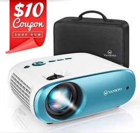VANKYO Cinemango 100 Mini Video Projector, 4000 Lux HD Movie Projector