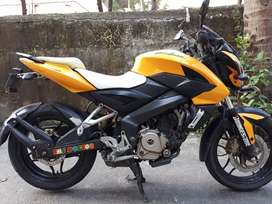 Pulsar 200Ns. I am 1st owner. Tiptop condition.