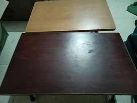 2 different Folding Bed Table