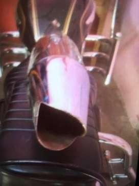Bullet silencer dolphin