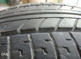 "14"" 165/70r14 81s tyre japanese toyo cmpany slightly used"