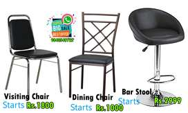 Visiting / Dining / Bar Chairs and Stools Limited Offer Brand New