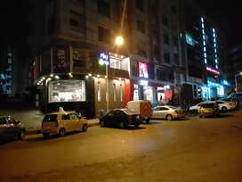Shop commercial for sale rented on 15 years brand in bahria town rwp
