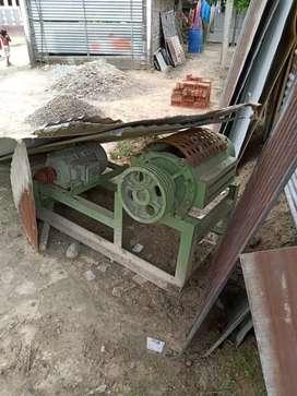 Machine plastic cutting