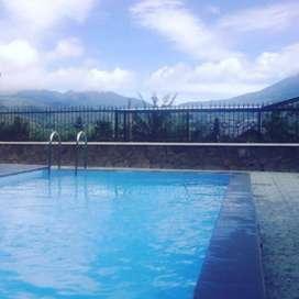 Di sewa kan Villa Kolam Renang dan View Gunung di Batu Malang