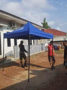 Tenda biru Palembang. Ready stock Palembang