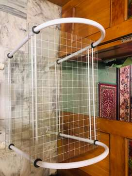 Like new Glass Trolley for serving