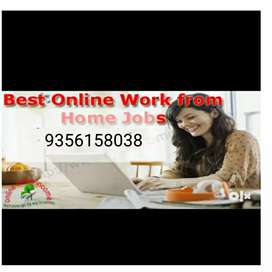Offering job data entry work For part time