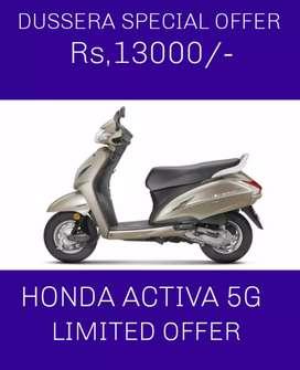 Good looking new Honda activa