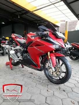 Honda All New CBR250RR Red Matte 2018.Km15rb.Warno Mustika