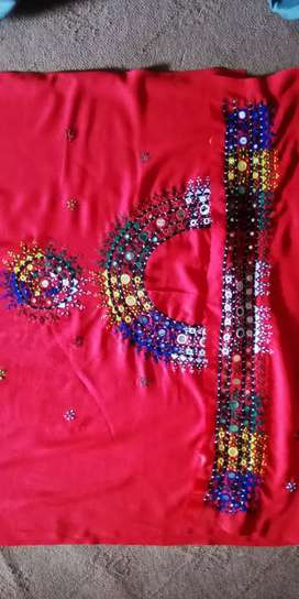Hand embroidery ladies suite