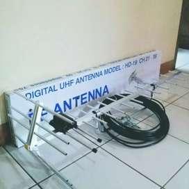 Pemasangan Baru Antena TV Digital