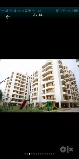 This is two bhk fully furnished flat price 85laks