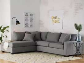 Good Collection L shape sofa set with 5 years of warranty