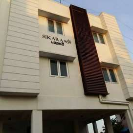 2 bhk flat for rent behind SRM school