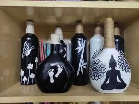 Bottle art, painting