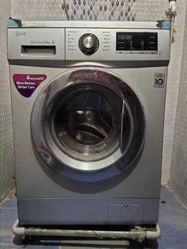 LG 8 KG fully front load automatic