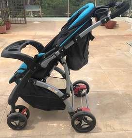 Brand : Luv lap stroller cum Pram for kids