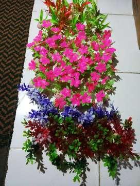 Bunga/tanaman plastik/hias aquarium /akuarium