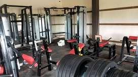 New gym set up