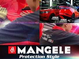 MUDAH Pasang Stiker Mobil Premium Wrapping Sticker Mangele Profesional