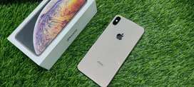 EMI STARTED.. Iphone xs max 64gb gold just 13 months used with origina