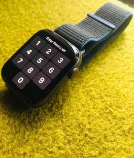 Apple Watch SE 44 mm GPS+Cellular ,Space Gray Alu charcoal SP loop