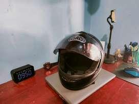Helm full face jadul merk gag