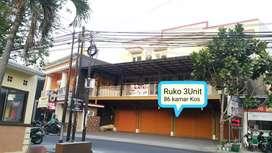 Ruko dan kos 86 kamar di Bunga bunga Malang