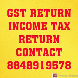GST and Income Tax return filing
