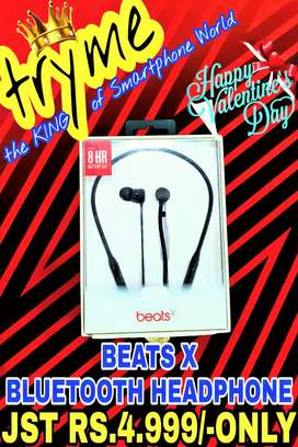 TRYME BEATS X Bluetooth Headphone Ful Kit Box