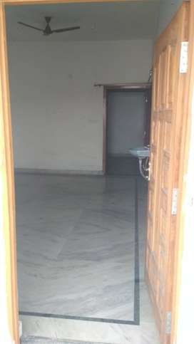 A flat with 2BHK desingner tiling and newly made