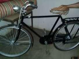 Sepeda tua cat baru