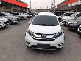 Honda New BRV E CVT A/T Thn 2017 Putih Kilometer Low