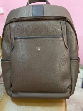 Da milano leather laptop bag with lifetime warranty