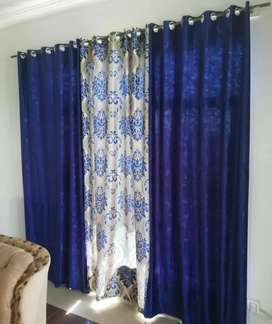 Curtains available