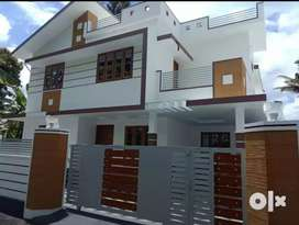 6 cent 2400 sqft 4 bhk new build posh house at aluva town dessom near